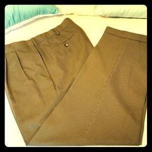Croft and Barrow Dress cuffed slacks